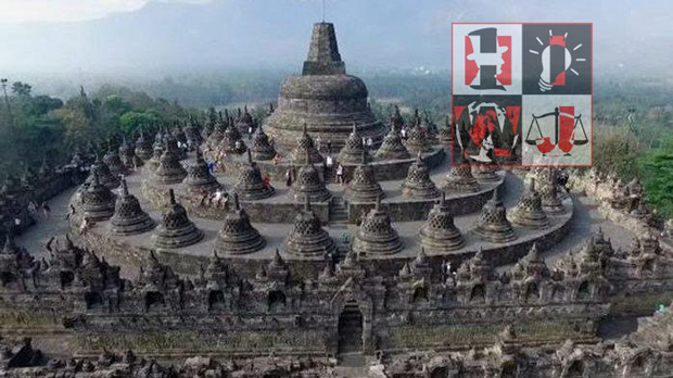 Influence of Hinduism and Buddhism in Indonesia